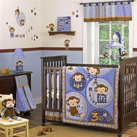 Baby Monkey Crib Bedding Cocalo Monkey Mania Baby Bedding Baby Bedding And Accessories