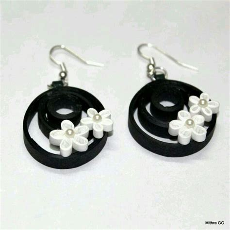 paper quilling earrings studs tutorial 191 best images about quilled jewerly on pinterest