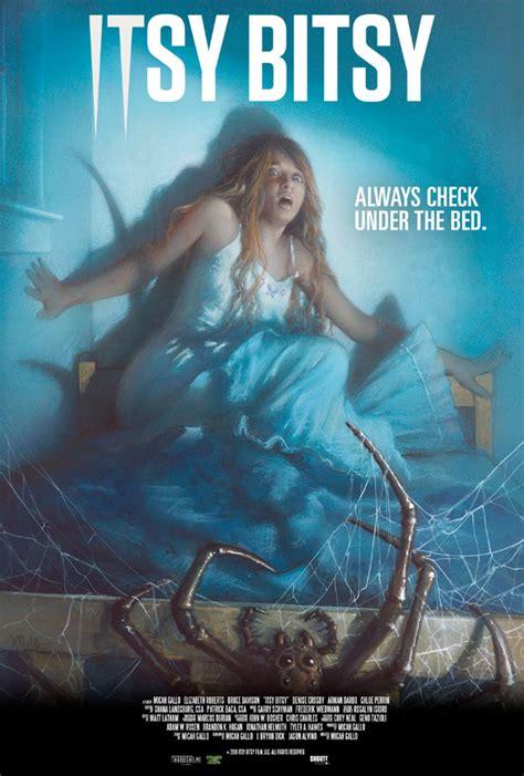 creepy giant spider haunts  family   itsy bitsy teaser trailer firstshowingnet