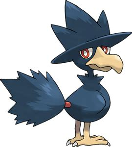 Fighter Profile 4 Murkrow murkrow pok 233 dex stats evolution locations other forms pok 233 mon database pokemonpets
