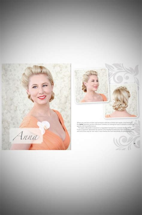 Rennells Vintage Hairstyles Book by Vintage Hairstyling By Rennells