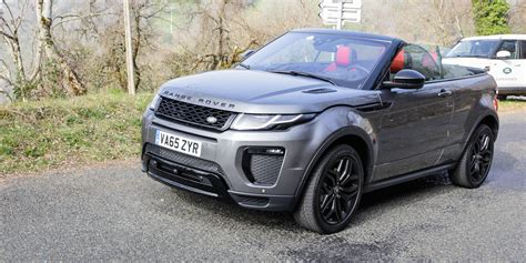 land rover convertible 2017 range rover evoque convertible review caradvice