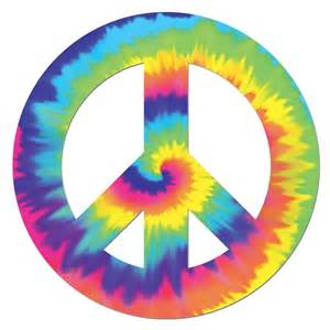 Neon Signs For Home Decor feeling groovy peace sign cutout