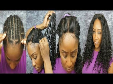 can i have a middle part weave without hair showing 17 best images about lace front closure on pinterest