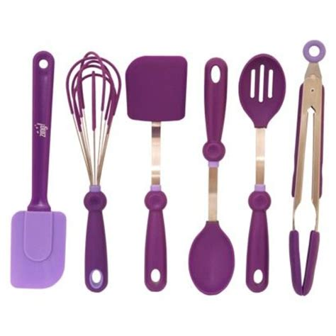 purple kitchen utensils kitchen baking stuff