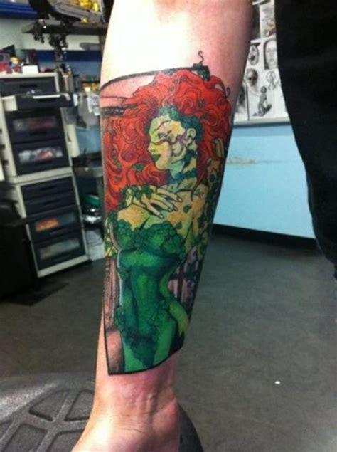 poison ivy tattoos designs poison batman modification