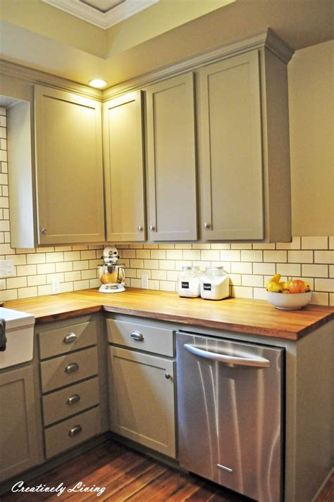 Yellow Countertops What Color Walls by White Beadboard Cabinets Butcher Block Counter Yellow