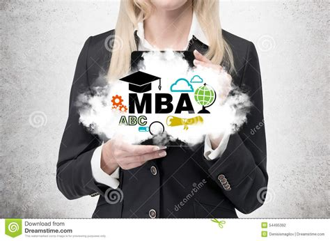 Mba Degrees In Duration by Business Is Holding A Cloud With Business