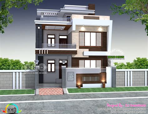 house plan 2018 28 x 60 modern indian house plan kerala home design bloglovin