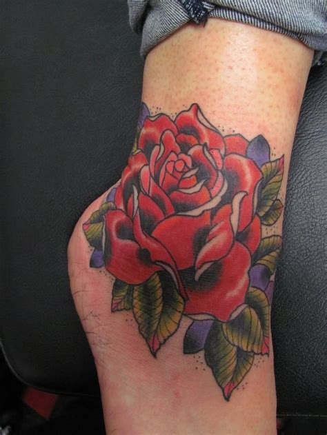 rose tattoo around ankle 49 best tattoos images on ideas