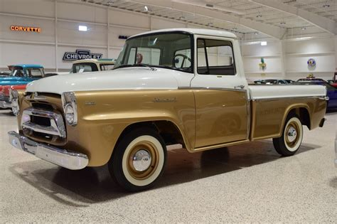 golden trucks 1957 international harvester a100 golden jubilee 1 2 ton