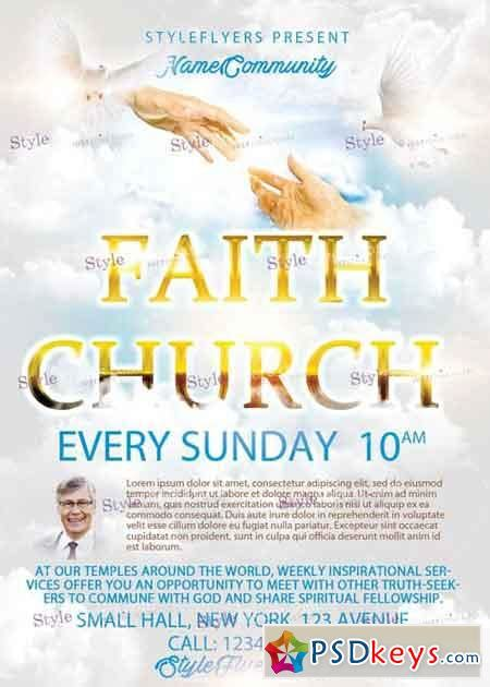 Church Flyer Templates Photoshop