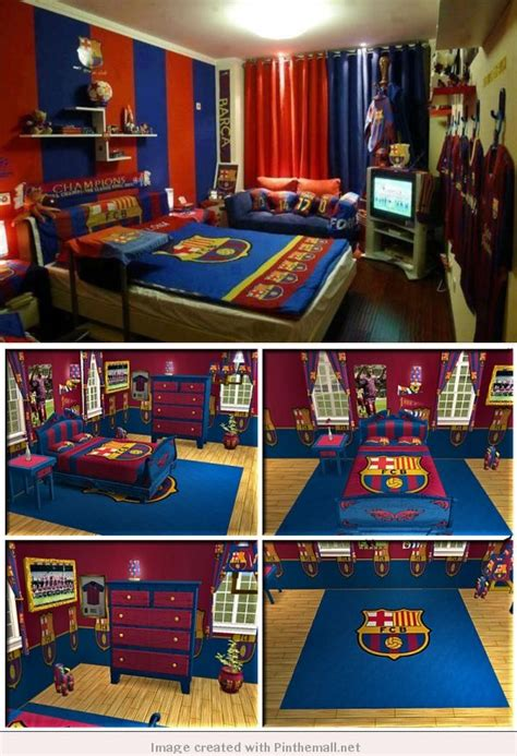 fc barcelona bedroom barca bedrooms for young cules home pinterest