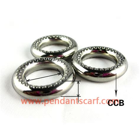 silver ccb plastic chunky jewelry scarf rings ac0031a