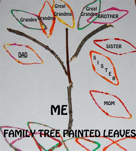 family tree template family tree template preschool