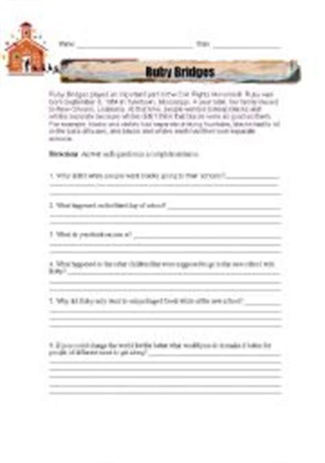 Ruby Bridges Worksheets by Ruby Bridges Worksheets Worksheets Tutsstar Thousands Of