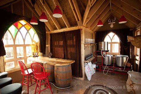 treehouse brewing co by pete nelson interior