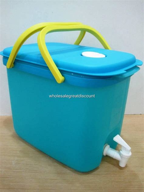 Dispenser Tupperware new genuine tupperware blue drink dispenser 10l water all ebay