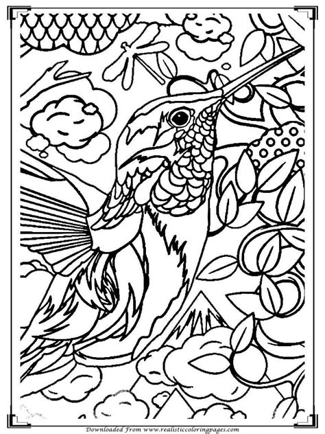 printable coloring pages for adults birds printable birds coloring pages for adults realistic