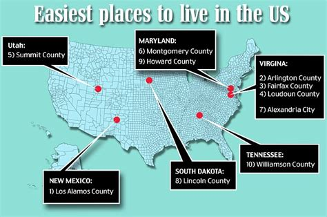 best us cities to live in for families images frompo 1 here are the easiest and most difficult u s counties to