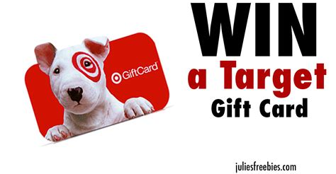 Win Gift Card - win a 300 00 target gift card julie s freebies