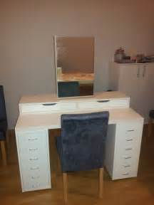 Ikea Vanity Assembly An Affordable Ikea Dressing Table Makeup Vanity Ikea
