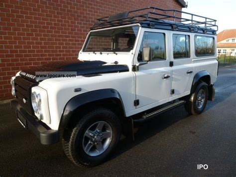 manual repair autos 2010 land rover defender ice edition navigation system 2010 land rover defender 110 station wagon fire ice car photo and specs