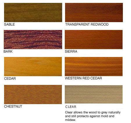 cedar stain colors western cedar penofin label color swatches