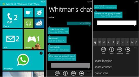 tutorial whatsapp windows phone 8 aten 231 227 o whatsapp para o windows phone 7 ser 225