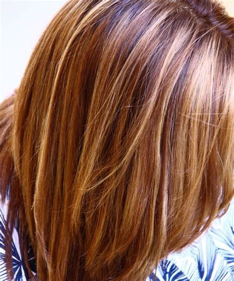 blonde foil highlights short hairstyle 2013 double highlights blonde and honey highlights in darkbrown