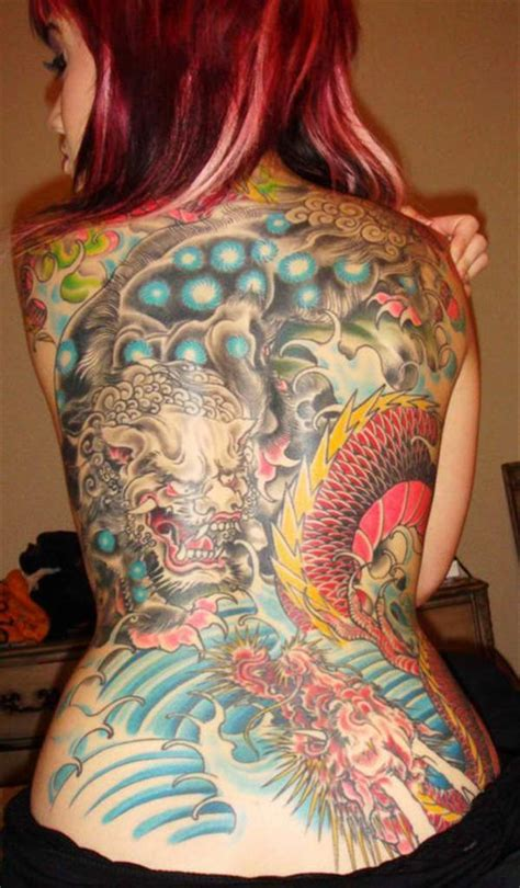 oriental tattoo colored 50 tattoos for women
