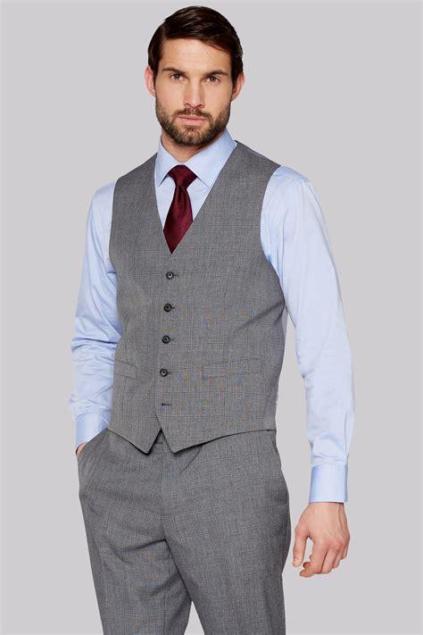 Jaket 2 In 1 Dc Light Gray moss esq regular fit light grey check jacket