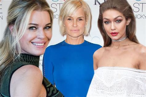 gigi hadid posts throwback snap of mother yolanda foster young pictures of yolanda hadid when she was a model