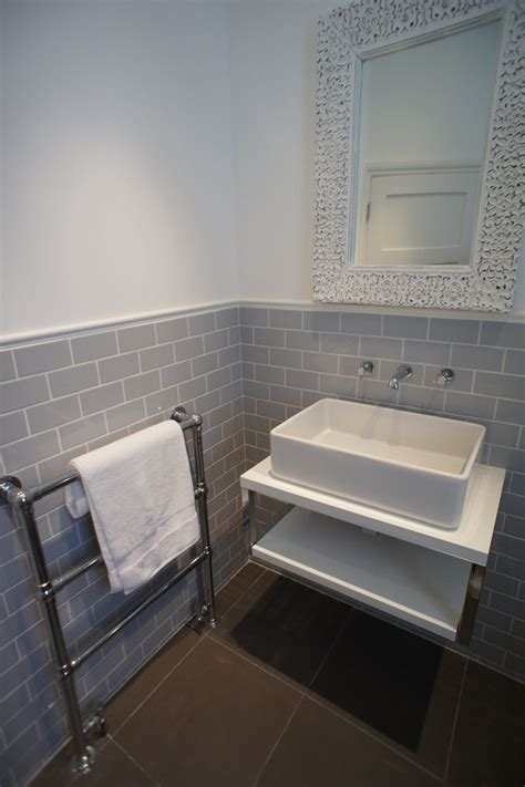 bathroom gray tile 25 best ideas about metro tiles bathroom on pinterest