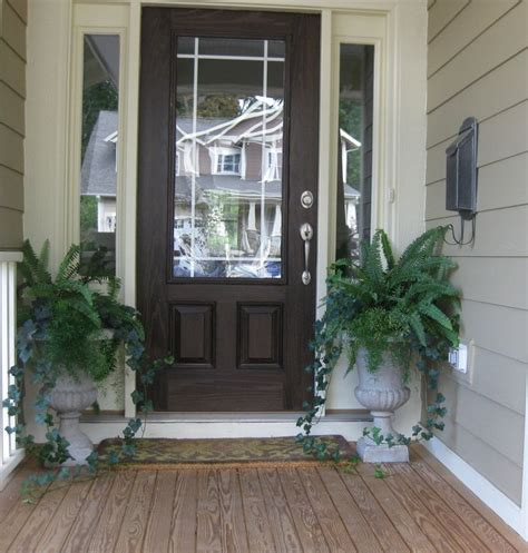 plants for outside front door 10 best images about front doors on modern
