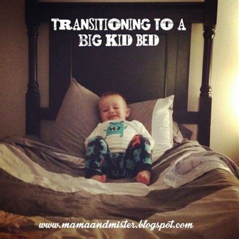 transitioning to toddler bed mama mister transitioning to a big kid bed mommy s