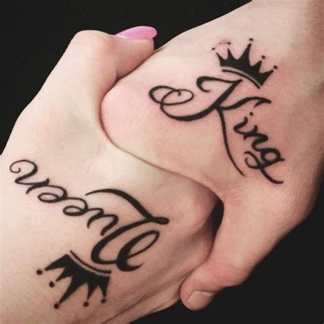 couple tattoos king and queen 80 inspiring ideas to express your lovely in