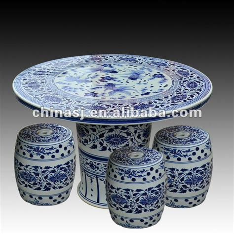Antique Ceramic Table Ls by Antique Blue And White Ceramic Garden Stool Table Set Ryay266 Jingdezhen Shengjiang Ceramic Co