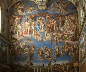 sixtinische decke rom die ewige stadt