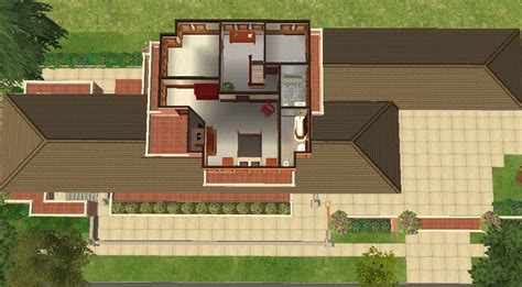 robie house site plan mod the sims frank lloyd wright s quot robie house quot
