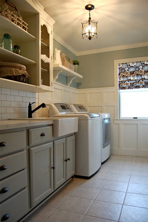 Kitchen Sink Backsplash Ideas by Roly Poly Farm Laundry Room Reveal