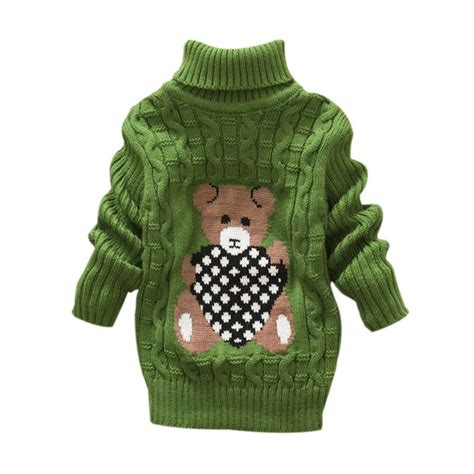 knit toddler sweater baby high necked knit sweater toddler winter