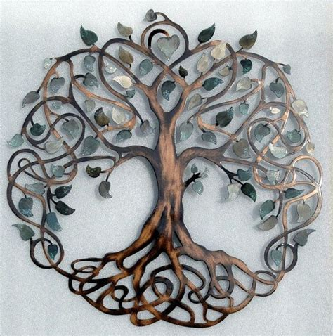 wire tree wall hanging home decor gorgeous design ideas tree of life metal wall art amazon