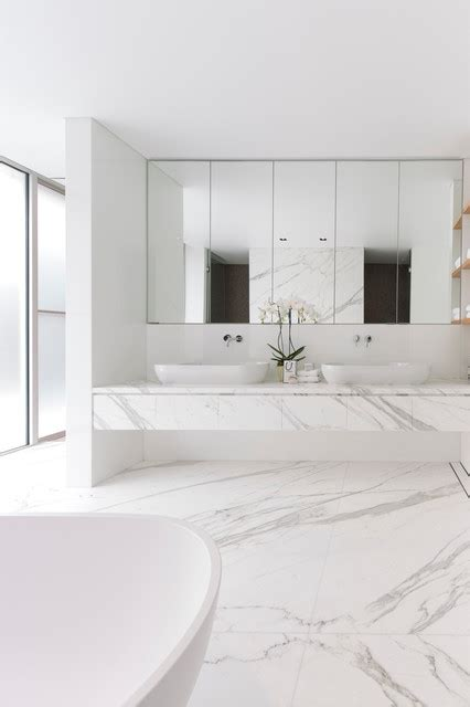 Modern Bathroom Mirrors Sydney Vaucluse Residence Viii Modern Bathroom Sydney By