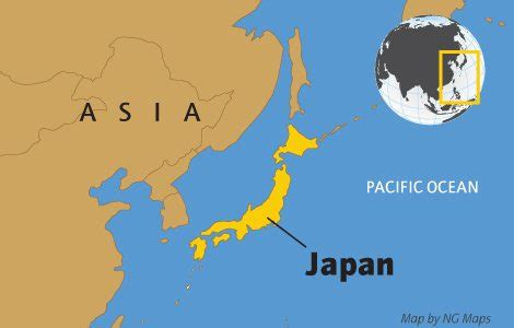japan geography map japan facts national geographic