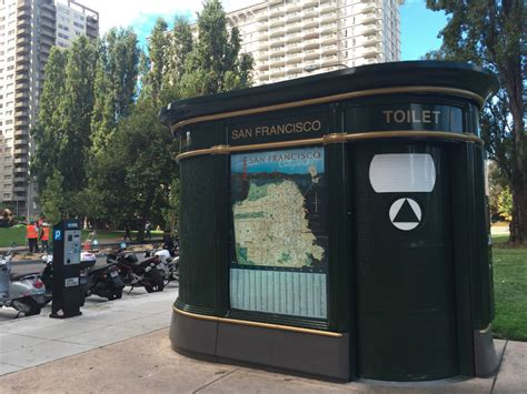 self cleaning bathroom san francisco supervisor kim calls to expand pit stop program hoodline