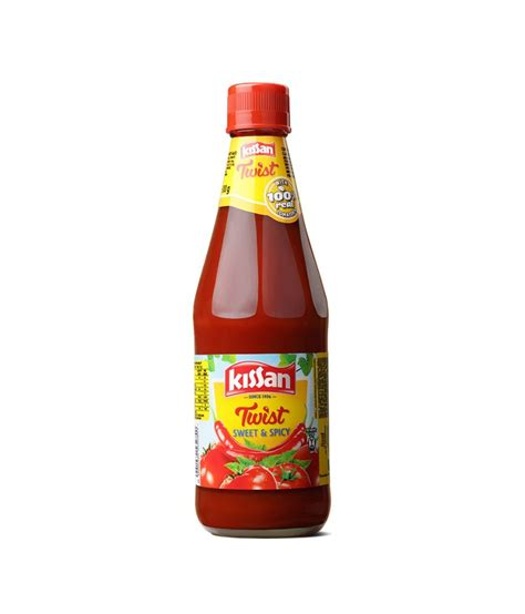 Spicy 500g buy kissan sweet and spicy sauce 500 g at best