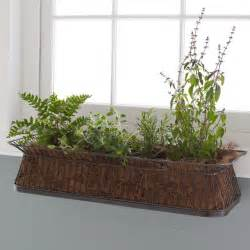 window box contemporary indoor pots and planters by