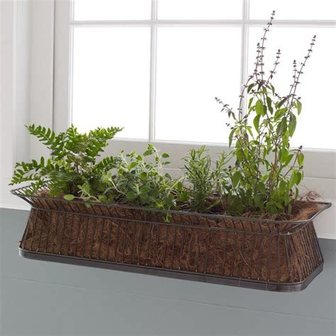 indoor window planter window box contemporary indoor pots and planters by