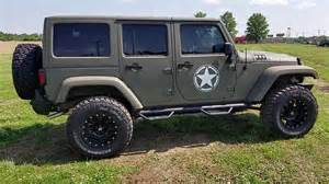Army Green Jeep Wrangler 2016 Jeep Wrangler Unlimited With Kevlar Spray Army
